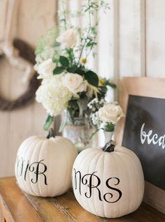 Mr. + Mrs. Pumpkins