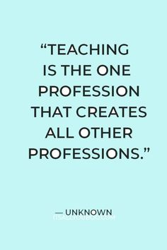 """""""Teaching is the one profession that creates all other professions"""" — Unknown. Are you a teacher who wants to set SMART goals? Click here for 20 SMART goals for teacher examples for the year, including professional, personal, and long-term goals. Each goal example is helpful for teachers and for students to have an amazing school year. Plus, get your FREE Printable SMART goals setting template and worksheet. Teacher Appreciation Quotes, Teacher Quotes, Smart Goal Setting, Setting Goals, Teacher Favorite Things, Best Teacher, Goal Setting Template, Long Term Goals, Best Inspirational Quotes"""