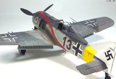 1/48 Fw-190A5/U12 Lt' Erich Hondt Hasegawa