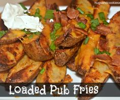 loaded pub fries cheese