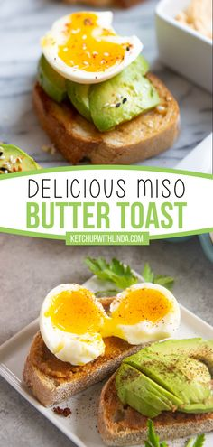 Love to meal prep? Try this easy recipe for back to school season! Miso Butter Toast is super simple to make and completely delicious. Packed with protein and flavor, this breakfast idea will keep you full until lunch! Serve with a soft-boiled egg on top and enjoy! Easy Family Meals, Easy Meals, Family Recipes, Soft Boiled Eggs, Great Recipes, Easy Recipes, Everyday Food, Pinterest Recipes