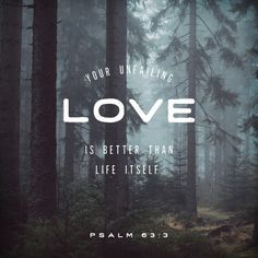 We give you Praise daily Lord GOD for Your unfailingly LOVE!!!