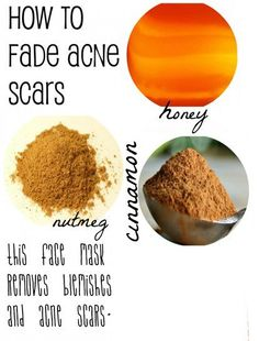 DIY mask to fade acne scars