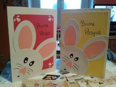 Biglietto coniglio pasqua Kindergarten Activities, Craft Activities, Diy And Crafts, Crafts For Kids, Happy Birthday Cards, Spring Crafts, Easter Crafts, Easy Drawings, Holidays And Events