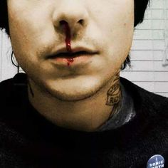 Sometimes I don't realize how hot something is until it's FRANK <<<hahaah true My Chemical Romance, Frank Iero, Emo Bands, Rock Bands, Bob Bryar, Rat Man, Mikey Way, Gerard Way, Pierce The Veil