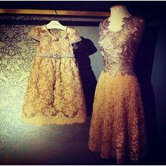 Modern kebaya inspired dress
