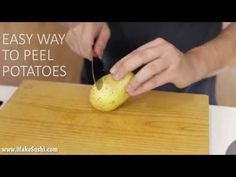 Skreller du potet med en potetskreller? Ikke etter å ha sett denne videoen - GENIALT