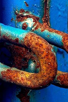 Rust by Ann Kate Davidson color-combo Foto Macro, Rust Never Sleeps, Rust Paint, Rust In Peace, Rusted Metal, Peeling Paint, Textures Patterns, Old Things, Photography