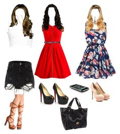 """Arianna Stilinski: 2x09!!"" by bunnyraeken on Polyvore featuring River Island, Jennifer Fisher, Agent Provocateur, Retrò, Christian Louboutin, Marc by Marc Jacobs, Cynthia Rowley, Charlotte Olympia and Lucky Brand"