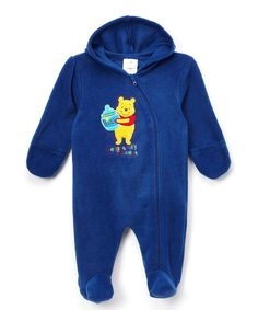 Love this Winnie the Pooh Blue Pooh Footie - Infant by Winnie the Pooh on #zulily! #zulilyfinds