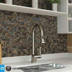 Pequenos detalhes fazem toda diferença.  #Repost @ceramicaportinari #ceramicaportinari #cozinha