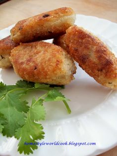 Iraqi Meat-filled Rice Fritters