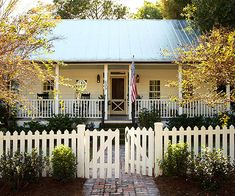 Dream Farm house; Simple; charming; could see myself having quiet time with the Lord on that porch :)