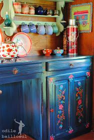Decor Boho Kitchen Cupboards 70 Ideas For 2019 Hippie Kitchen, Bohemian Kitchen, Bohemian House, Décor Boho, Bohemian Decor, Sweet Home, Kitchen Cupboards, Eclectic Decor, Cozy House