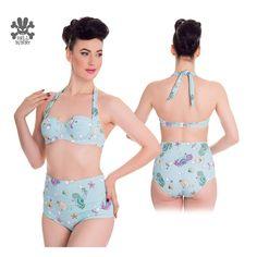 Foksi   Hell Bunny Bubble & Sweet 50s style bikini top - Foksi
