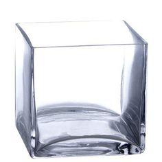"""Bulk 12 Pieces 5"""" Clear Glass Square Vase ( Case of 12), http://www.amazon.com/dp/B004J59RB0/ref=cm_sw_r_pi_awdm_gZ6Vub0PNZ9JH"""