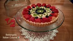 Crostata di nonna Etta 🍒 Nonna Etta's pie 🍒 Short-bread crust filled with black cherry spread A 100% Italian recipe (like all my recipes), and gifted to me from my mother-in-law Nicoletta. It's one of my kids' favorite and hubby too 😉 Follow my FB page @bellangelacooking #italianfood #italiandessert #dolci #italiandolci #tasteofhome #italiancuisine #crostata #crostatadimarmellata Fruit Tart Glaze, Fresh Fruit Tart, Italian Desserts, Italian Recipes, Shortcrust Pastry, Summer Recipes, Cravings, Cheesecake, Lemon