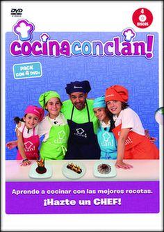 cocina con clan: temporada 1 vol 1 al 4 (dvd)-8420266975911