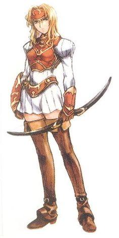 Legend of Dragoon - Miranda
