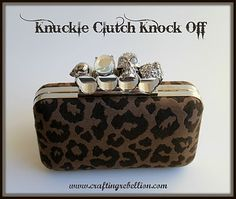 Crafting Rebellion: Knuckle Clutch Knock Off