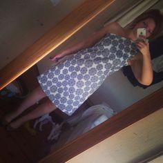 One shoulder A-line dress