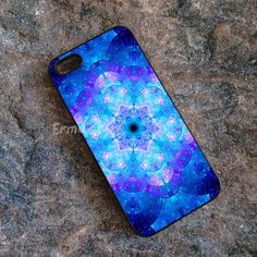 Caja holográfica Mandala para el iPhone SE 5s 6s 5c 6 por ErmaStore