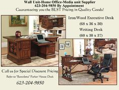 Parker House, Media Unit, Wholesale Furniture, House Furniture, Writing Desk, Home Office, Barcelona, The Unit, Facebook