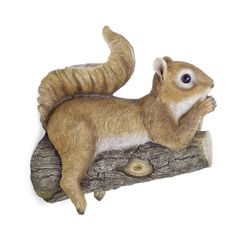 Fenton the Realistic Lazy Garden Squirrel Ornament for Tree or Wall Mount   eBay