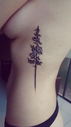 My Pine tree tattoo... Loving it!
