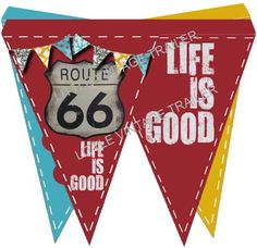 Free Pennant Banner Bunting Flags Printable