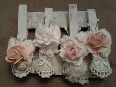 altered clothes pins | Altered clothespins