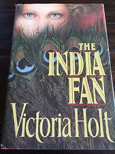 1988 The India Fan Victoria Holt Hardcover Gothic Historical Romance Novel Book