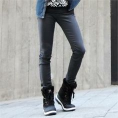 Buy 'ABOKI – Straight-Cut Pants' with Free International Shipping at YesStyle.com. Browse and shop for thousands of Asian fashion items from South Korea and more!