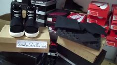 Authentic Yeezy Boost Black View