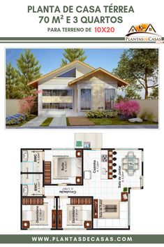 47 Adorable Free Tiny House Floor Plans ~ Design And Decoration House Plans Mansion, Duplex House Plans, New House Plans, Dream House Plans, Small House Plans, House Floor Plans, Model House Plan, Bungalow House Design, House Layouts