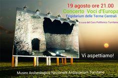 Concerto Voci d'Europa, 19 agosto alle 21.00 A cura del Coro Polifonico Turritano
