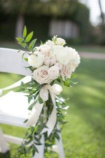 Aisle Inspiration--something along this line but more simple with a few less flower blooms