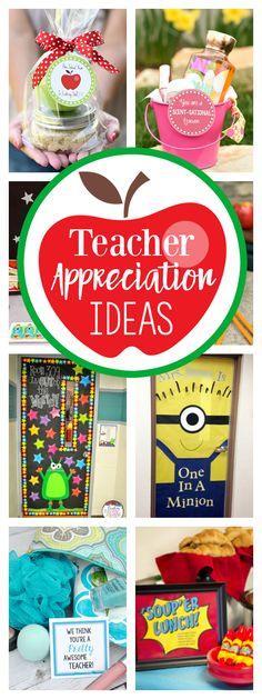 Teacher Appreciation Week Ideas-Teacher Gift Ideas, Door Decorations, Themes and More