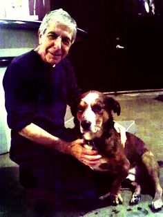 Leonard Cohen talks about his love for dogs