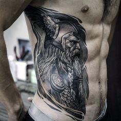 60 Odin Tattoo Designs For Men