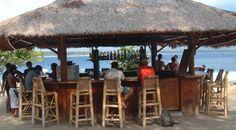 A Beach Bar in Jamaica (Caribbean Island)