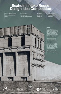 Attention architects and designers! You could win $5,000 if your redesign for the Seaholm Intake buildings is chosen!