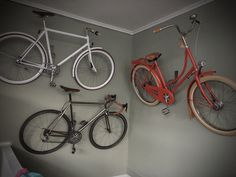 Cycle wall mount Knag =-)