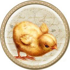 Digi stemple by AliceCreations: 41. Kurczaczki trzy