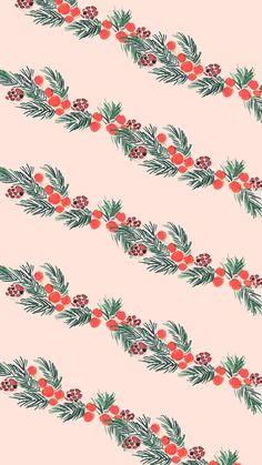 FREE Cute Holiday Winter Christmas Phone Wallpaper