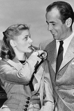 "Humphrey Bogart was buried with a small, gold whistle once part of a charm bracelet he had given to Lauren Bacall before they married. It was inscribed with a quote from their first movie together: ""If you want anything, just whistle."""