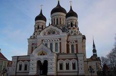Alexander Nevsky Cathedral, Tallinn (Estonia)