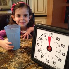 The Time Timer is a fantastic tool for teaching kids time management skills, especially when coupled with a reward chart. Very effective for children who take too long performing simple tasks like eating, homework or chores.