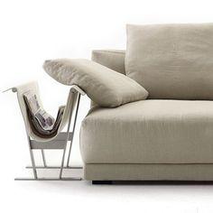 """divano di pelle color crema – poltrona frau """"petronio"""": 250 euro"""