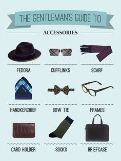 A selection of men's fashion essentials to always look dapper.